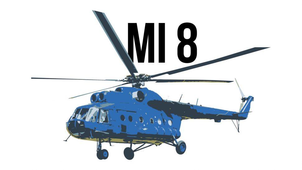 Ložiská pre Mi 8 motor TV3 117