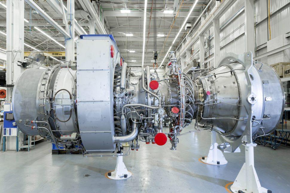 turbína SGT A65